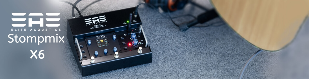 X6 Digital pedalboard mixer